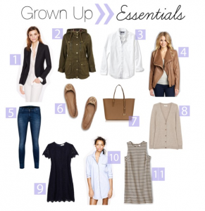 guest post: grown-up essentials