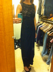 style q: accessorizing lace dress for black-tie wedding