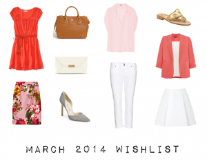 outfit post: march 2014 shopping wishlist (slightly late)