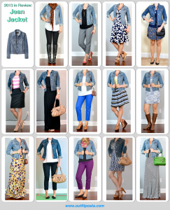 2013 in review – outift posts: jean jacket