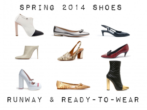 outfit post: spring 2014 shoe shopping – runway & ready-to-wear