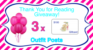 one day left to enter $100 giveaway! three winners!