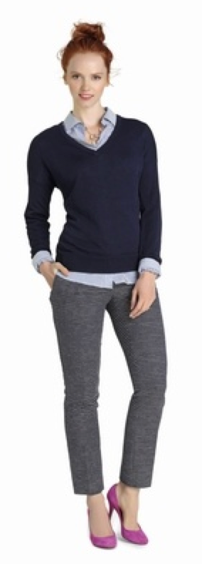 Popular  Best Ideas About Navy Pants On Pinterest  Navy Pants Outfit Women