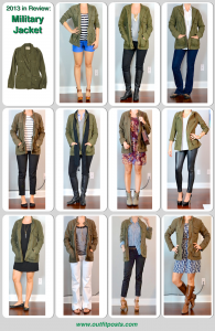 2013 -Outfit Post: Military Jacket