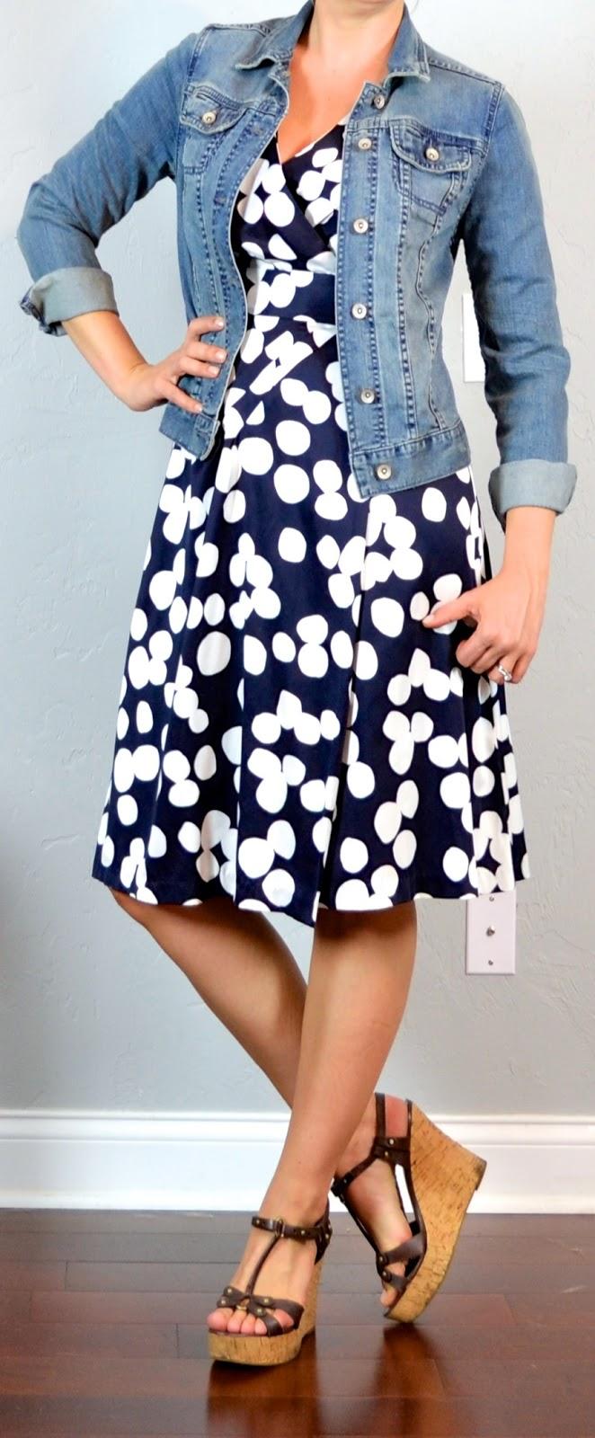 Black Polka Dot Nursing Modest Dress   Best Online Modest