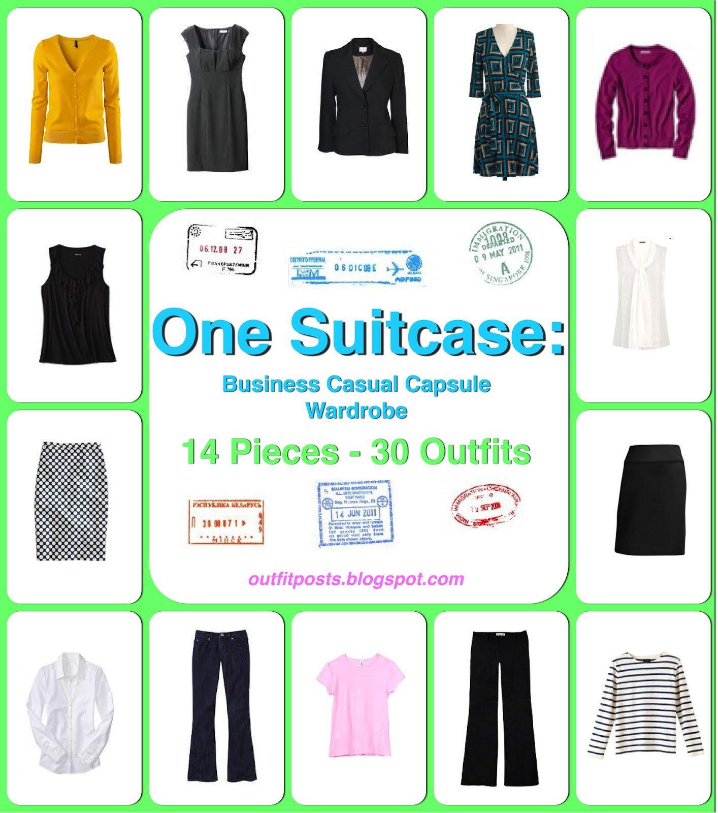 Without Further Ado Here Is The First Installment Of Outfit Posts One Suitcase Series Business Casual Capsule Wardrobe