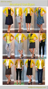 2012 in review – outfit posts: mustard cardian