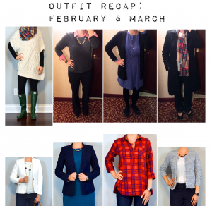 outfit posts: february & march outfits