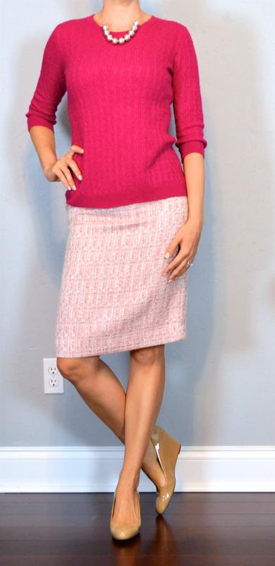 pinksweatertweedskirt