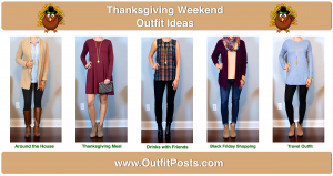 outfit post: thanksgiving weekend outfit ideas