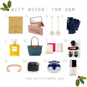 outfit post: gift guide for her #2