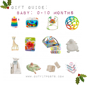outfit post – gift guide: babies and toddlers
