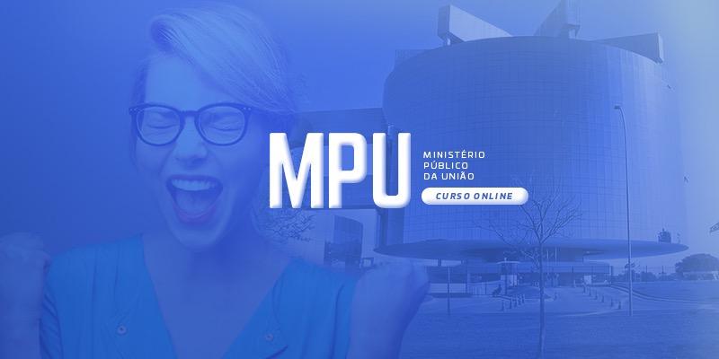Concurso MPU - Curso on-line - Box