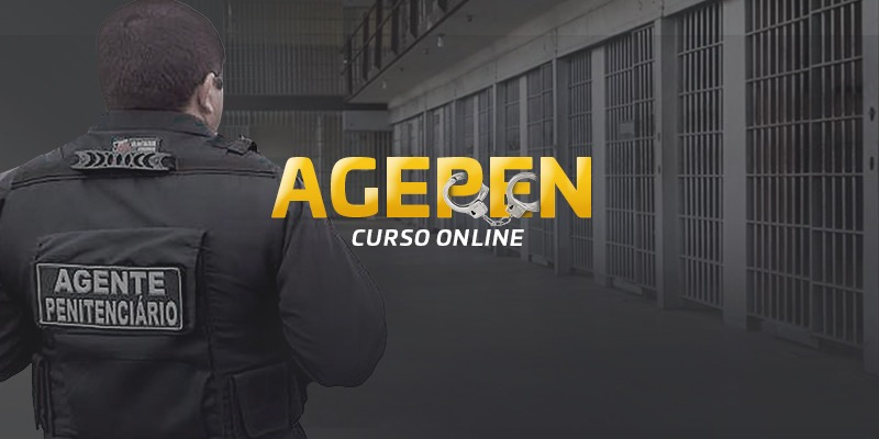 Concurso Agepen - Curso on-line Blog