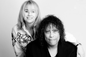 Dawn Carroll and Jon Butcher, collaborators on the NEW Over My Shoulder Foundation mentoring song.