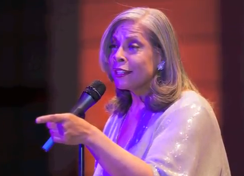 Over My Shoulder Foundation's Co-Founder Patti Austin at the 2013 Leaders of Design Council Conference in Berlin, Germany