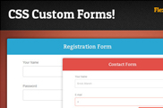 Responsive CSS Forms Set and Validation