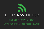 Ditty RSS Ticker