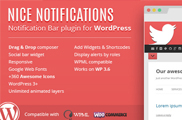 Nice Notifications - WordPress Notification Bars