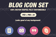Glyph Icons for Blog