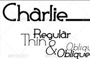 Tipografía Charlie