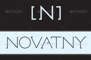 Tipografía Novatny