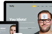 Selfy - Responsive and Retina Ready WordPress Theme