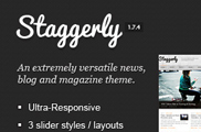 Staggerly - Responsive News, Magazine & Blog Theme