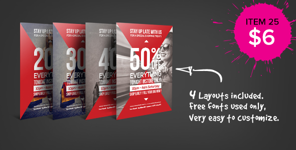 Shopping Mall Business Flyer
