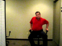In this video clip, chiropractor Dr Jeff Parton explains how to use the wobble chairs in his office to help loosen the muscles in the back. Dr Parton demonstrates the proper way to use the wobble chairs before a chiropractic treatment and offers tips for patients to practice wobbling at home.