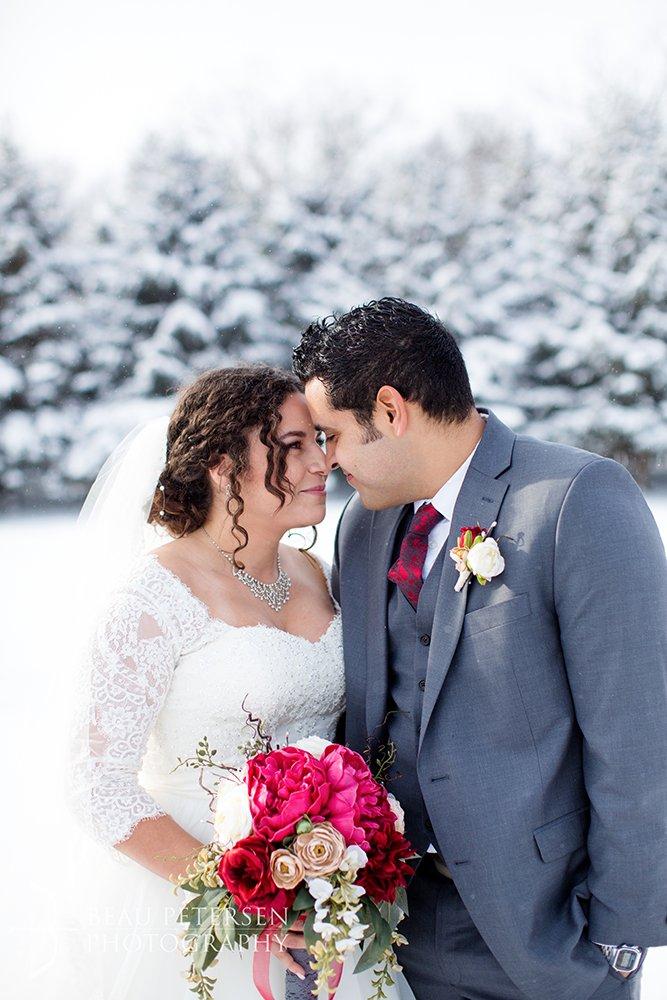 Stillwater Minnesota Winter Wedding