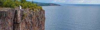 Larsmont Cottages Wedding on Lake Superior