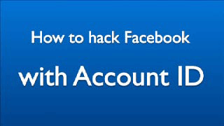 Picture image video about how to hack a Facebook account by hacking Facebook ID number for free