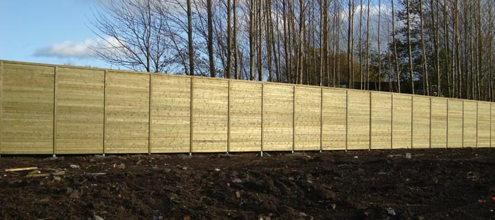 High quality noise reduction fencing