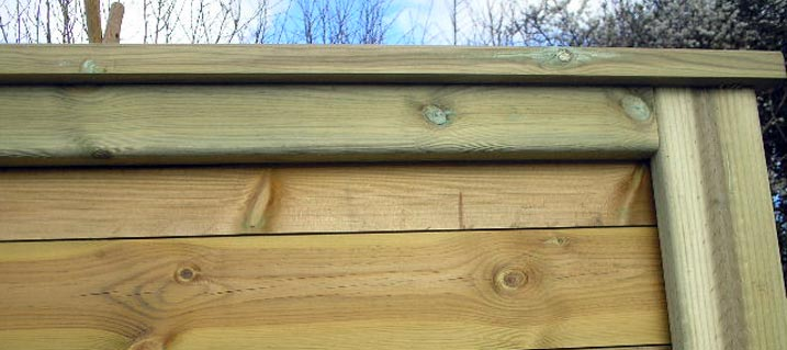 High quality timber fencing