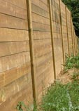 Beautiful timber fencing