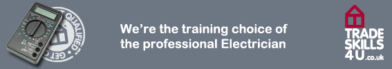 We're the training choice of the professional electrician!
