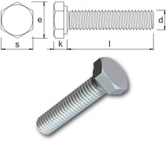 Bumax Hexagon Screw 100 Metric
