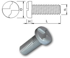 TR Security Machine Screws Type 6 Pan Head