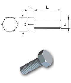 Metric High Tensile Hexagon Setscrews