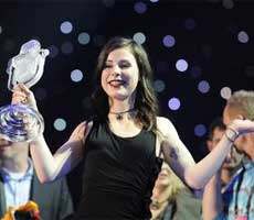 GERMANY'S Lena Meyer-Landrut wins the 2010 Eurovision Song Contest
