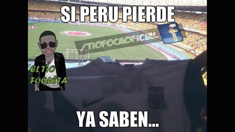 Perú vs. Colombia: los memes de la amarga derrota en Eliminatorias