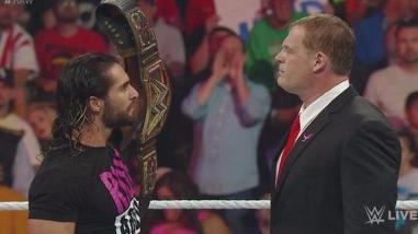 WWE: Kane tendrá revancha ante Seth Rollins en Hell in a Cell 2015