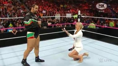 WWE: Rusev aceptó casarse con Summer Rae con una condición