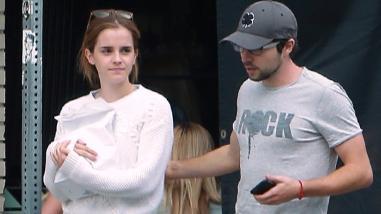 Emma Watson fue vista paseando con su nuevo ¿Novio?