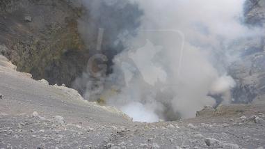 Arequipa: cráter del volcán Sabancaya mantiene elevadas temperaturas