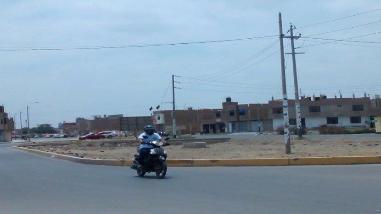 Chiclayo: cruzada por la Seguridad Ciudadana recorrió avenida Unión