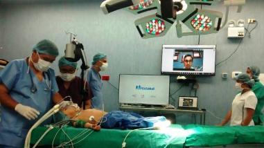 Trujillo: realizan primera operación teledirigida desde Estados Unidos