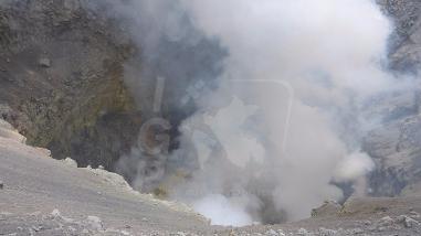 Arequipa: cráter del Sabancaya con niveles elevados de temperatura