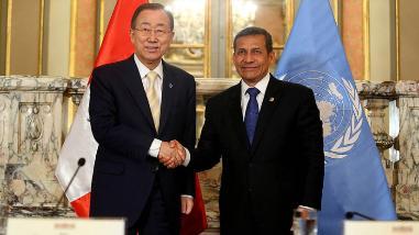 Ban Ki-moon participará en las Reuniones Anuales del BM y FMI